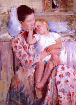Emmie and Her Child, 1889