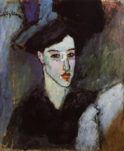 The Jewish Woman (also known as The Jewess) 1908 private collection