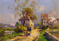 A spring day, 1915