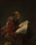 An Old Woman Reading, 1631