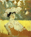 Woman with a hat, 1901