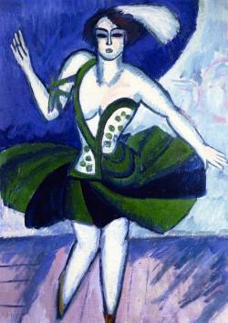 The Russian Dancer Mela, 1911