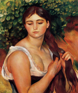 The Braid, (Suzanne Valadon) 1885