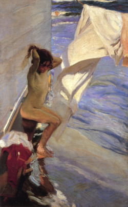Before the Bath, 1909