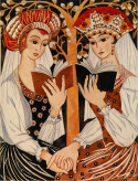 Two Russian Maidens