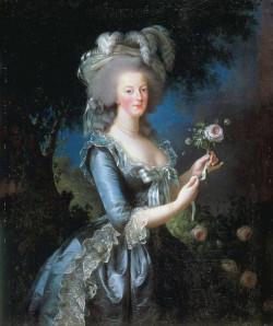 Portrait of marie antoinette xx chateau de versailles versailles france