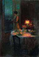 Young Woman at her Window