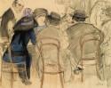 Cafe Scene, 1910