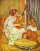 Guitar lesson, 1897