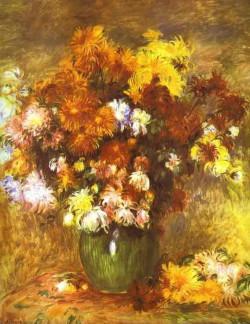 Bouquet of chrysanthemums 1885 xx musee des beaux arts rouen