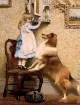 A Little Girl And Her Sheltie aka A Secret Place 1892