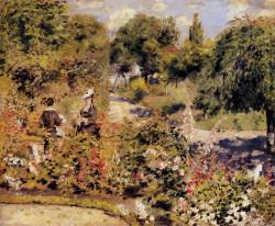 Garden at fontenay 1874 xx sammlung oskar reinhart winterthur switzerland