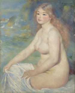 Blonde Bather, 1881