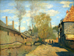 The Stream of Robec at Rouen, 1872