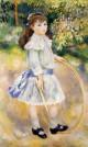 Girl with a hoop marie goujon 1885 xx national gallery of art washington