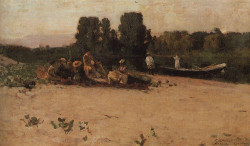 a picnic 1880 the tretyakov gallery moscow russia