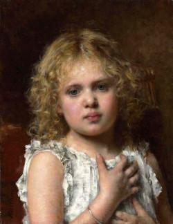 Harlamoff Alexej A Young Beauty