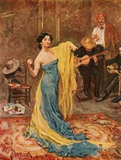 The dancer Marietta di Rigardo, 1904