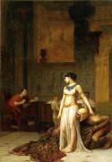 Cleopatra and Caesar, 1886