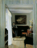 Interior With Woman Reading, 1896