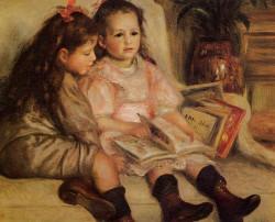 The Children of Martial Caillebotte Pierre Auguste Renoir - 1895