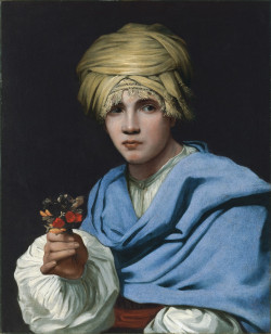 oy in a Turban Holding a Nosegay, 1658 - 1661