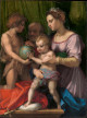 Holy Family with the young Saint John the Baptist
