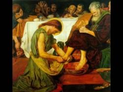 Christ washing