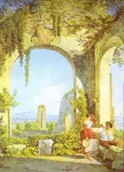 Italian ruins 1822 1826 xx the hermitage st petersburg russia