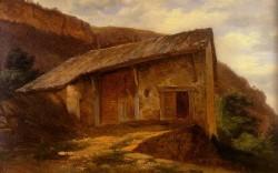 A farm House On The Side Of A Mountain