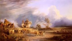 Goat Herders In A Neapolitan Landscape